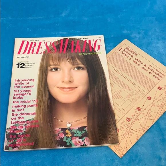 1972 FASHION Dressmaking International Magazine
